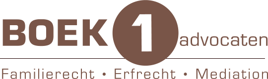 Scheidingsadvocaat Boek1advocaten - familierecht - echtscheiding en mediation logo